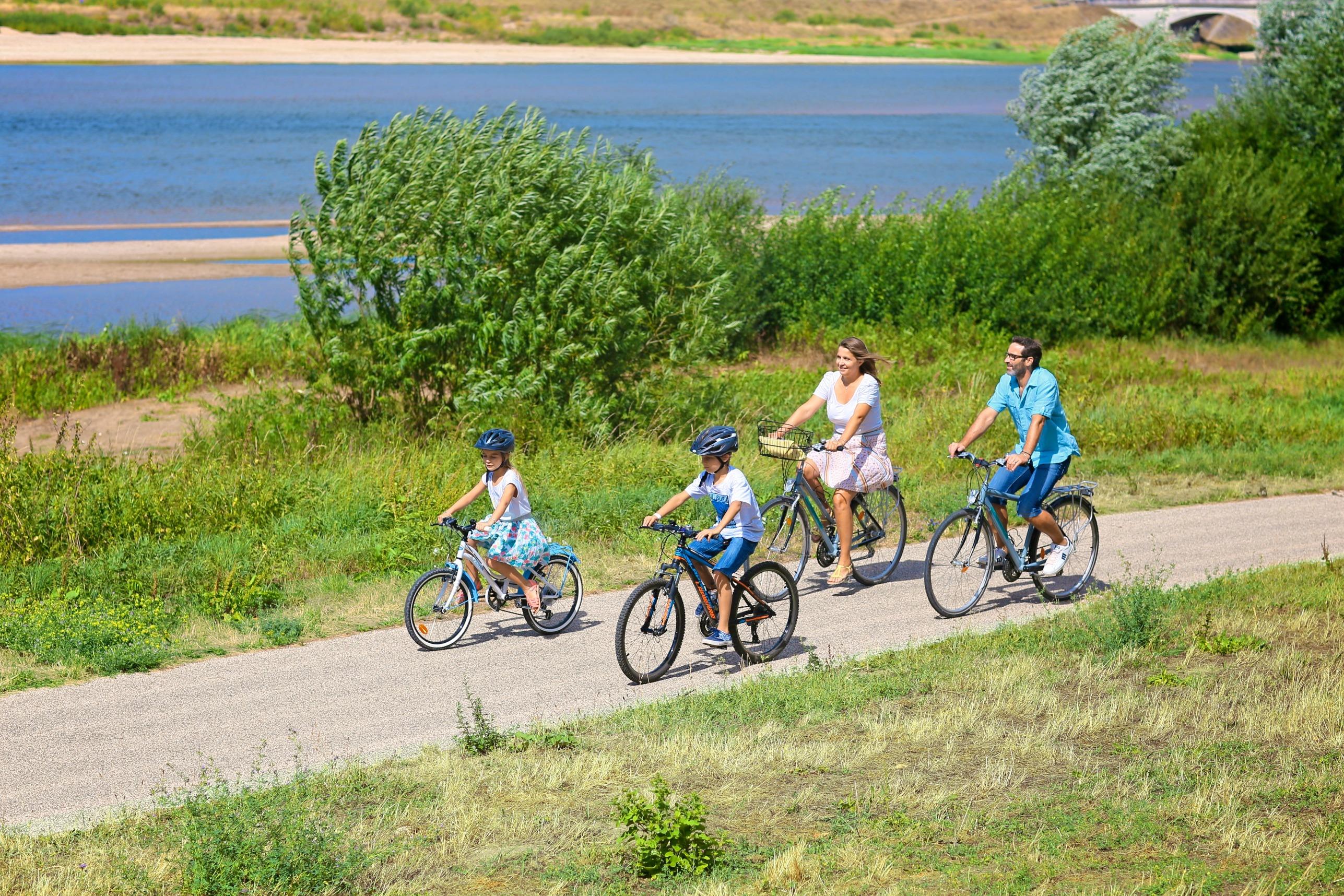 Tourisme Loiret Loire à velo