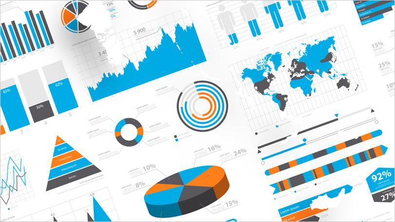 infographie chiffres et graphiques