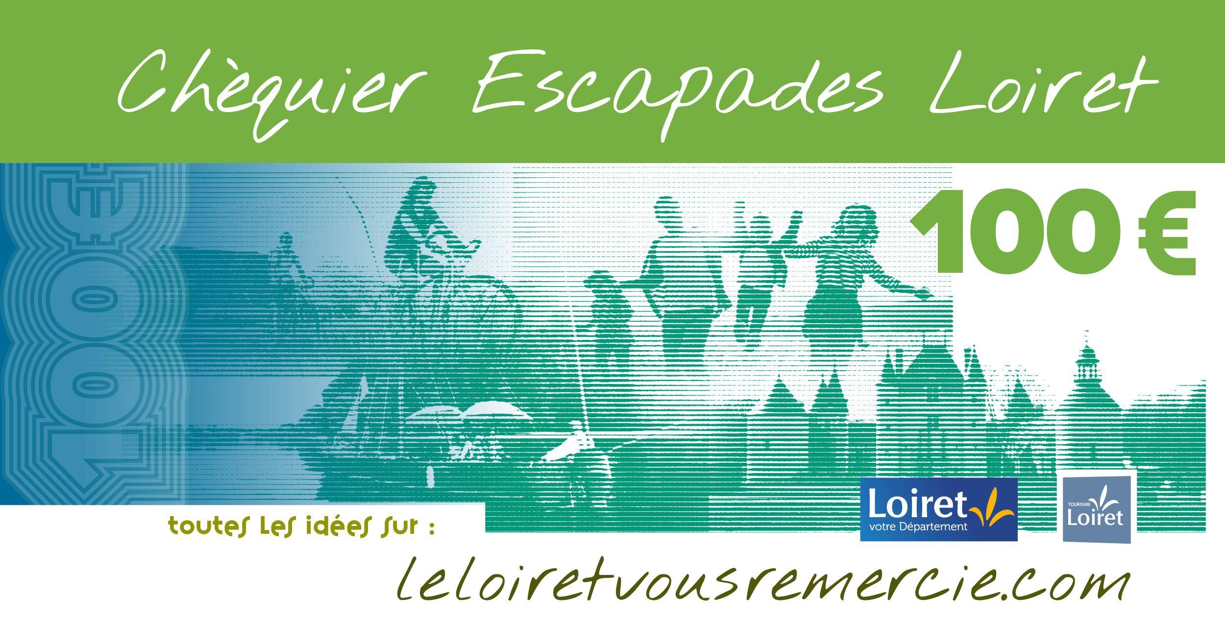 Le Loiret vous remercie - 20 000 chéquiers de 100€ à destination des soignants