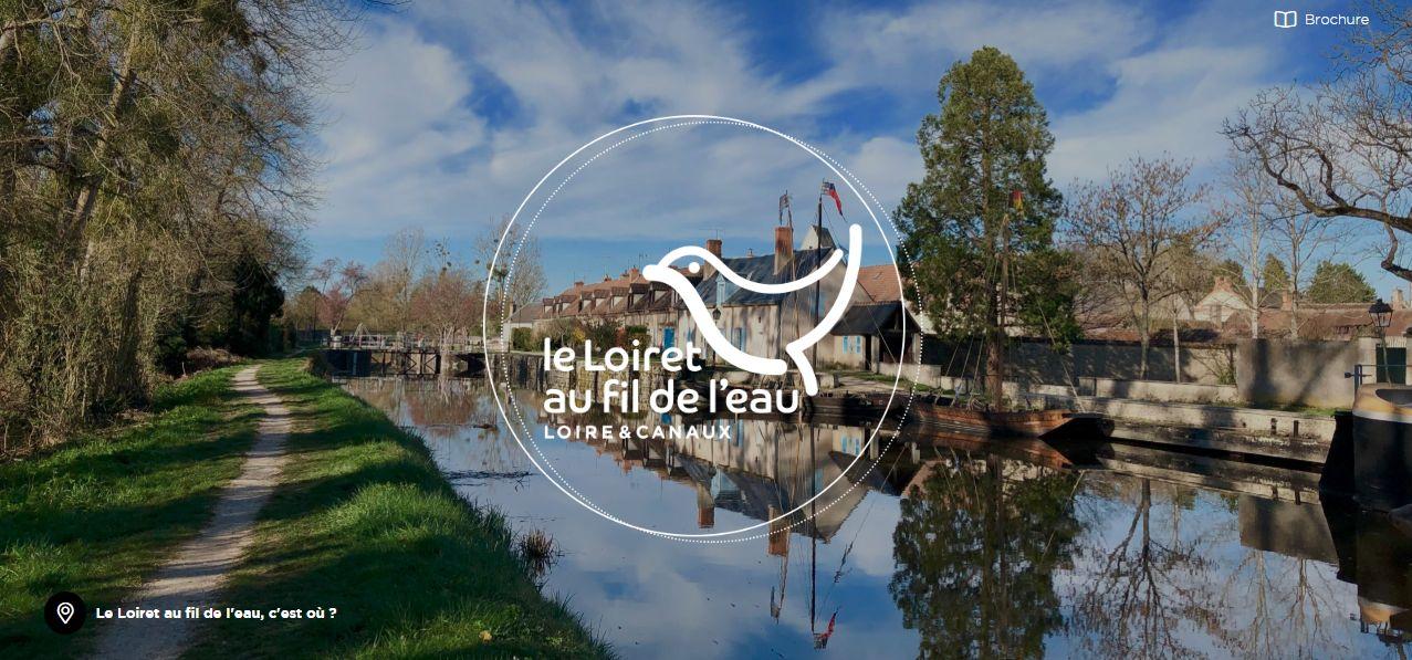 Le Loiret au fil de l'eau : 2 nouveaux supports de promotion !